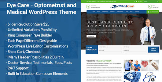 Optometry, Optician & Optics Store - Theme88.Com – Free Premium Nulled Cracked Themes & Plugins & PHP Scripts and More