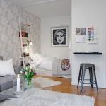 Small Swedish Apartment Exhibiting Charming Design Details - Paperblog