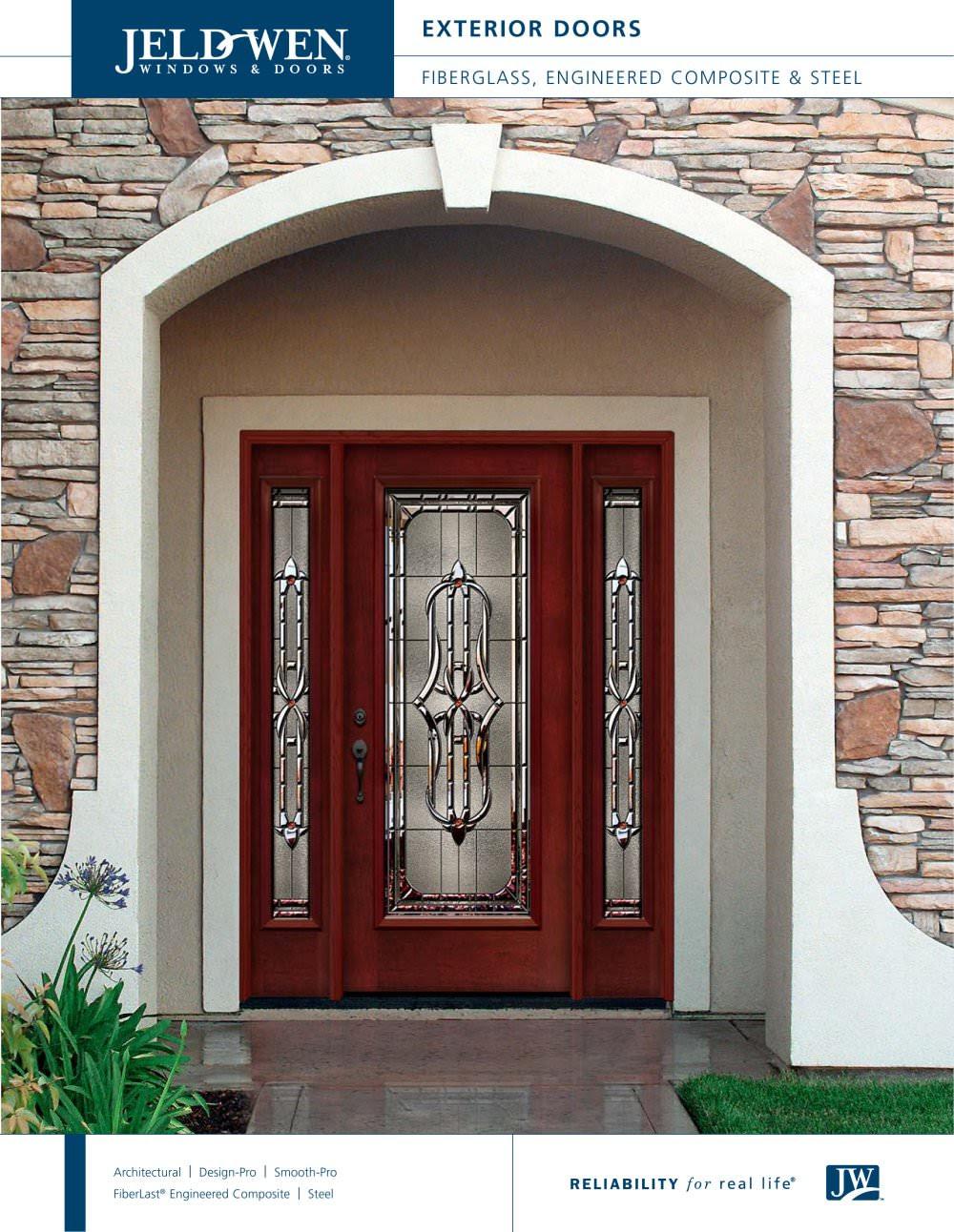 Fiberglass And Steel Exterior Doors Jeld Wen Pdf Catalogs