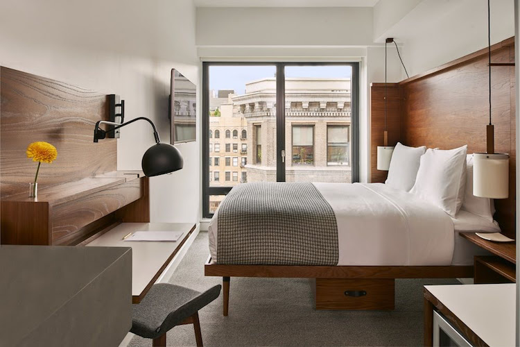 Best NYC Hotels, Arlo Hotel, Meatpacking