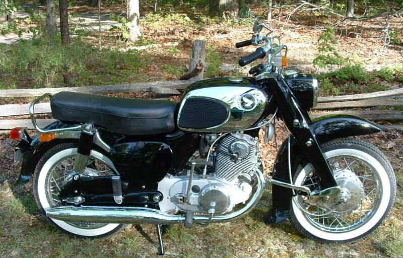 Car Design Jurek: 1969 Honda dream 305 front