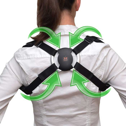 Smart Back Brace with Bluetooth Corrects Your Posture - iPhoneNess