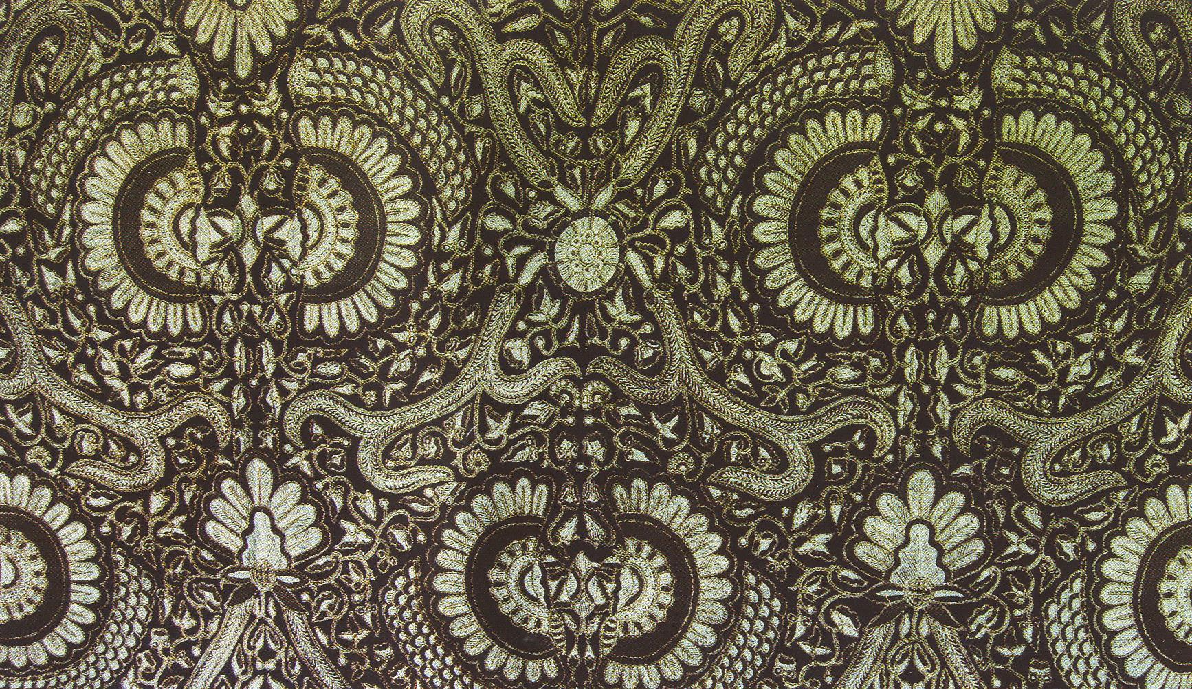 Batik Painting Fabric Artwork