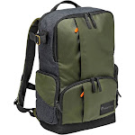 """Manfrotto Street Series Camera Backpack - 15"""" - Black/Gray/Green"""