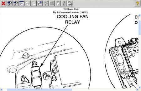 Honda Civic Honda Civic 2006 Radiator Fan Not Working