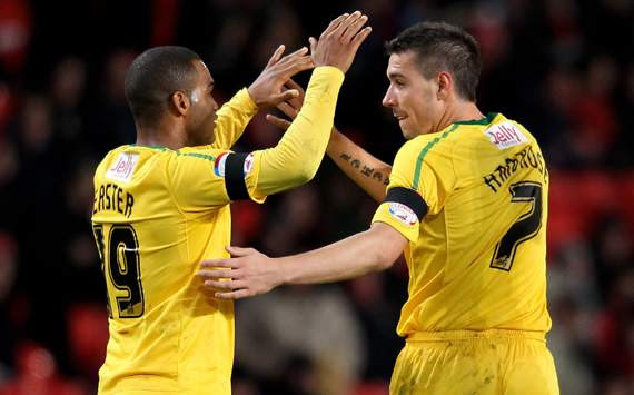 Carling Cup - Manchester United v Crystal Palace, Darren Ambrose and Jermaine Easter