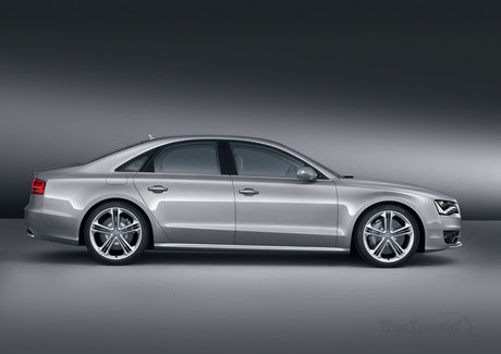 the Audi S8 doesn't come