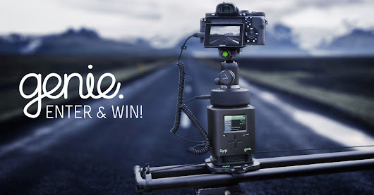 Enter and WIN! @SYRP_ Genie Motion Control  $1300+ Giveaway