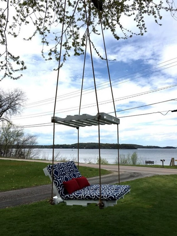 DIY Tree Swing Ideas For More Family Time (19)