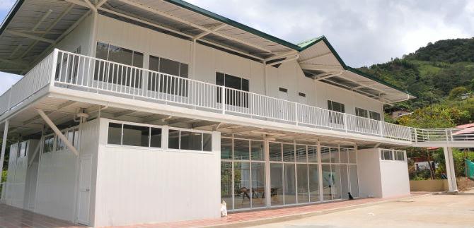 Se inaugura moderno centro cultural y biblioteca en el corregimiento de La Leonera
