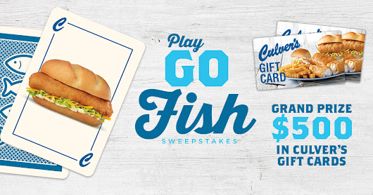 Play Culver's Go Fish Sweepstakes