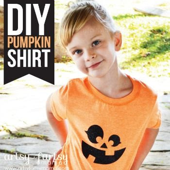 DIY Pumpkin Shirt