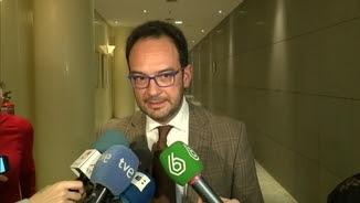 El portaveu socialista al Congrés, Antonio Hernando