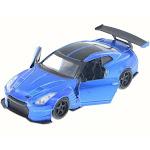 2009 Nissan GT-R R35 Ben Supra, Candy Blue - Jada 98674DP1 - 1/32 Scale Diecast Model Toy Car
