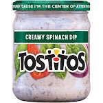 Tostitos Creamy Spinach Dip - 15oz