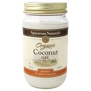 Spectrum Naturals - Coconut Oil Organic, 14 oz liquid