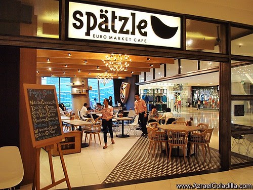Spätzle : Euro Market Cafe in East Wing of Shangri La Plaza