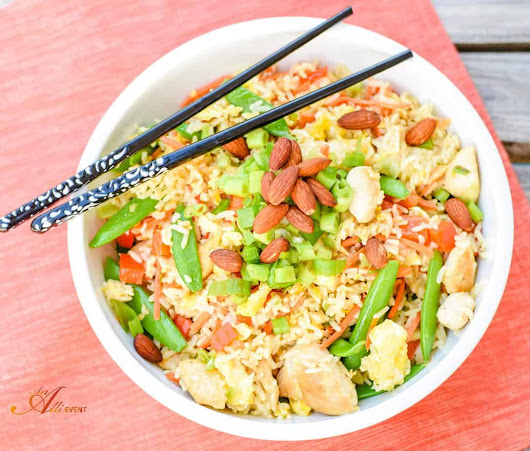 How to Make Easy Chicken Fried Rice - An Alli Event