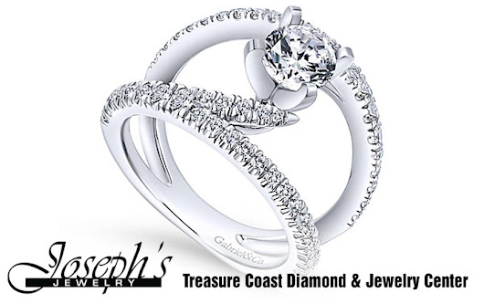 Gabriel's unique selection, combining excellent workmanship with innovative design sense, you'll want to take a closer look. | Joseph's Jewelry Treasure Coast Diamond & Jewelry Center