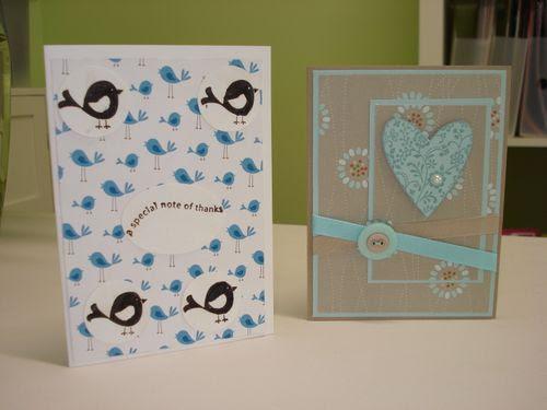Cards from ethan, lynda
