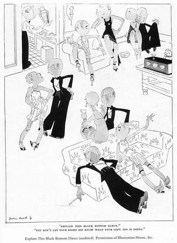 John Held Jr., Explain this black bottom dance, 1920s