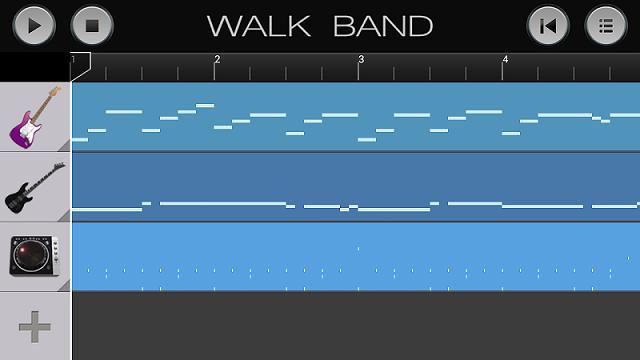 aplikasi android untuk membuat musik digital WALK BAND , 4.33 / 5  3