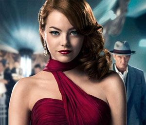 Emma Stone and Sean Penn star in GANGSTER SQUAD.