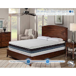 "Sleep Science 12"" iFlip Sonoma Cal-King Dual Comfort Memory Foam Mattress"