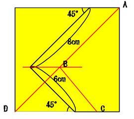 イメージカタログ: ここへ到著する 正方形 対角線 長さ