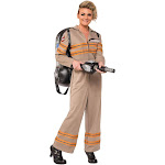 Ghostbusters Movie: Ghostbuster Female Deluxe Adult Costume - 48105 - Brown - Large