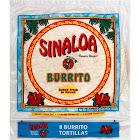 Sinaloa Burrito Tortillas - 8 count, 17.6 oz packet