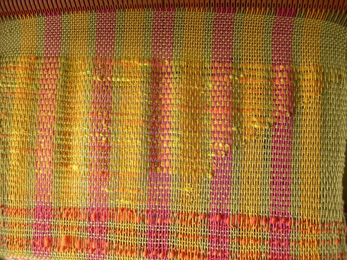 Last section: Clasped Weft