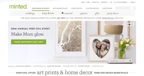 Spring Decor with Minted | Style Through Her Eyes