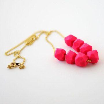 Fimo Clay Geometric Beads