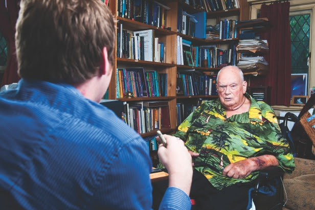 Sir Patrick Moore on life in the universe: