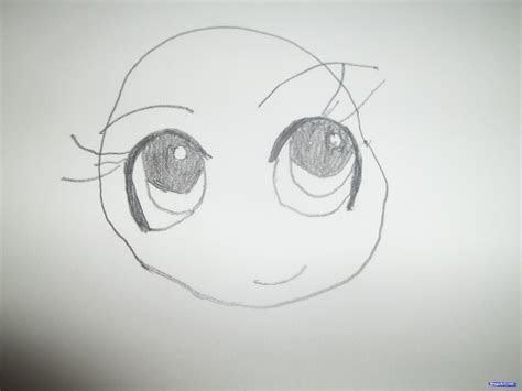 draw  cute simple chibi girl step  step chibis