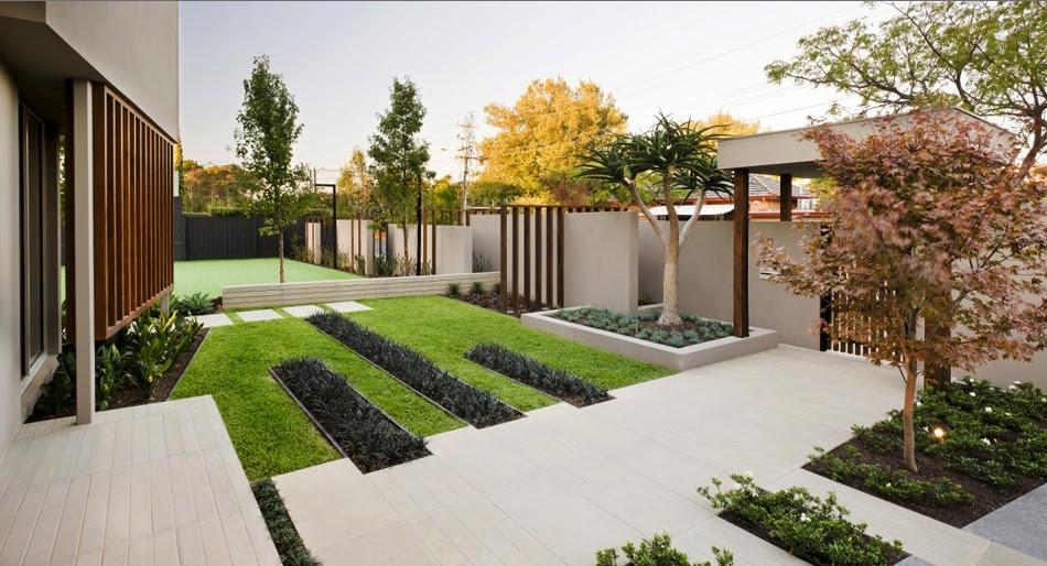 Modern Contemporary Courtyard Garden Design