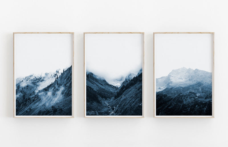 25 Mountain Wall Art Designs To Decorate Your Walls ...