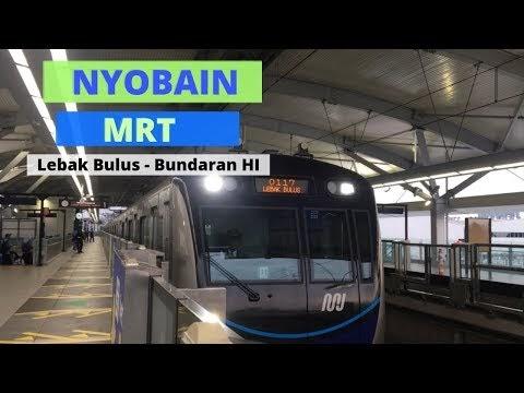 Nyobain Naik MRT Jakarta