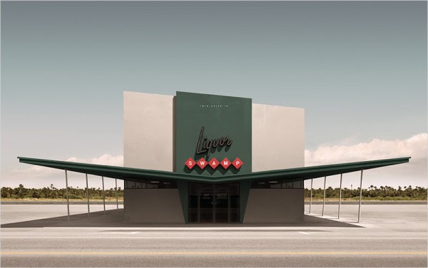 Liquor Swamp, a work inspired by places and architecture of the 20th century.