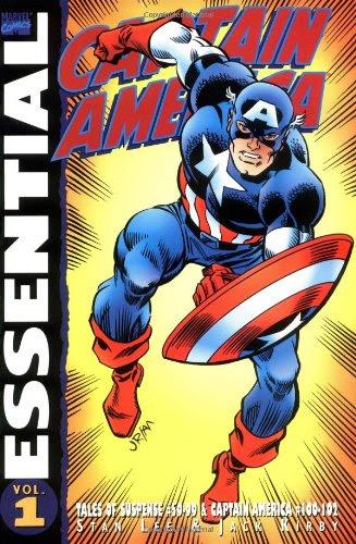 Essential Captain America I cover