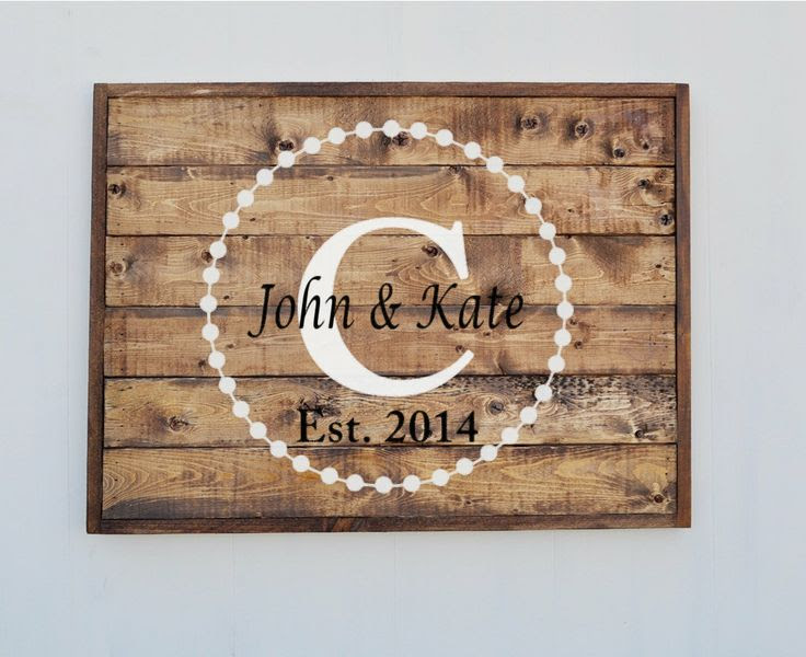Wood wavynavy, Rustic  Family sign rustic name  Custom sign  by Sign Name Personalized $80