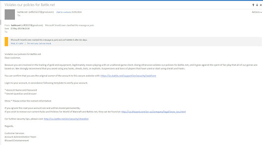 Battle.net Phishing Email Exposed!