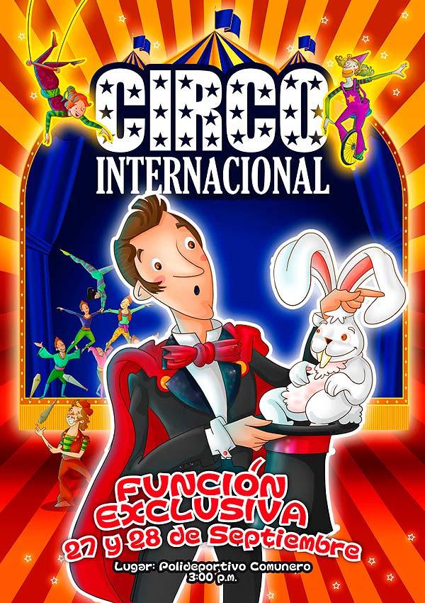 Personajes para afiche de Cinemazul por Hache Holguín
