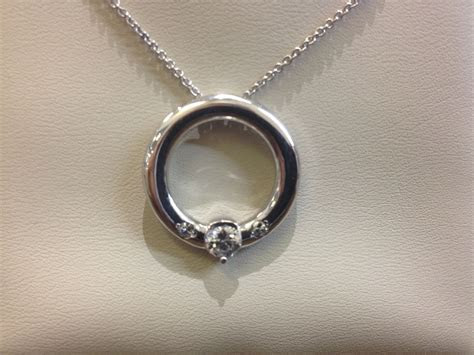 Our customer wanted his wife's ring turned into a necklace