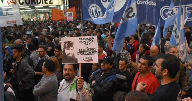 En Córdoba las centrales obreras pidieron un paro general