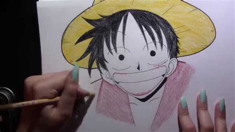 drawing monkey  luffy   mangaanime  piece