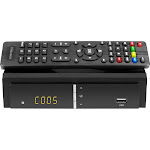 Aluratek - Digital TV Converter Box with Digital Video Recorder - Black