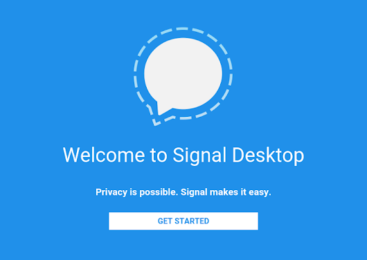 Open Whisper Systems >> Blog >> Signal Desktop