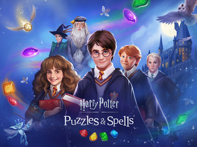 Harry Potter: Puzzles & Spells comes to Android: a puzzle game with lots of magic